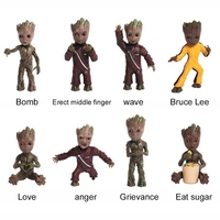 Baby Groot Keychains Guardians of The Galaxy 1