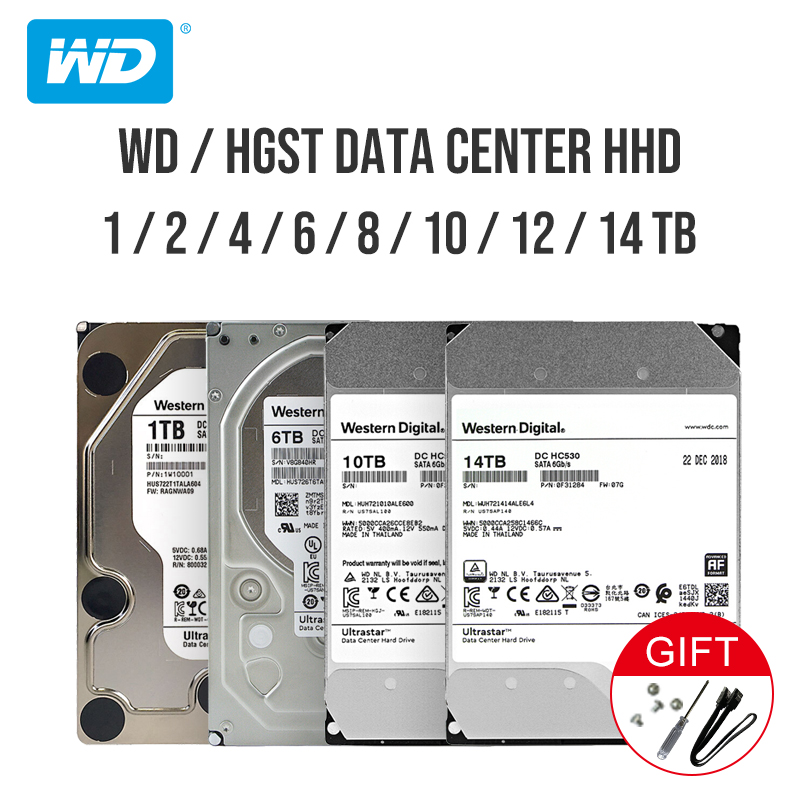 Western Digital He Ultrastar DC HC530 Enterprise Hard Drive 3.5