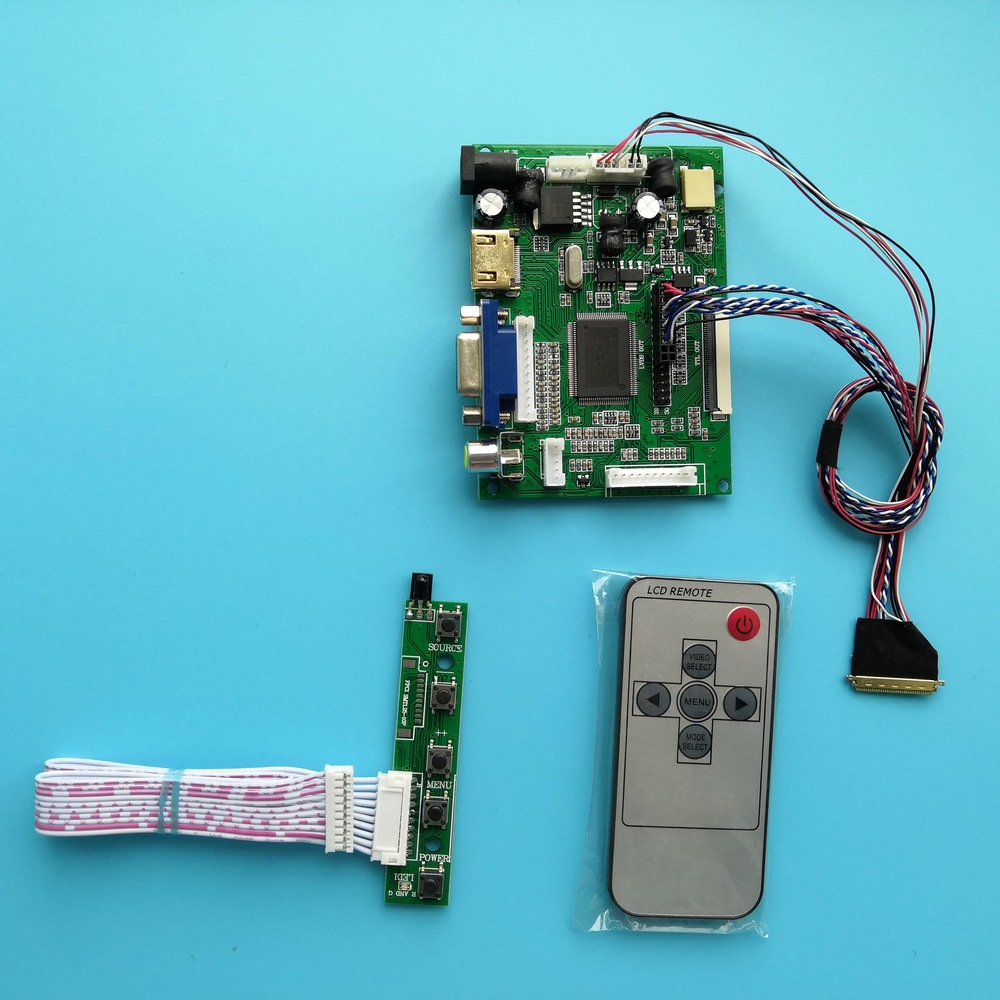 For LTN156AT05 40pin 2AV LCD Remote Screen LED Panel 15.6