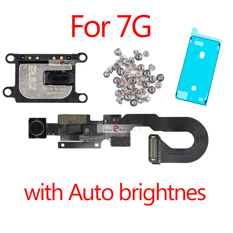 Front Facing Camera Flex /& Proximity Sensor Replacement for iPhone 6 Plus 5.5 Light Motion Assembly