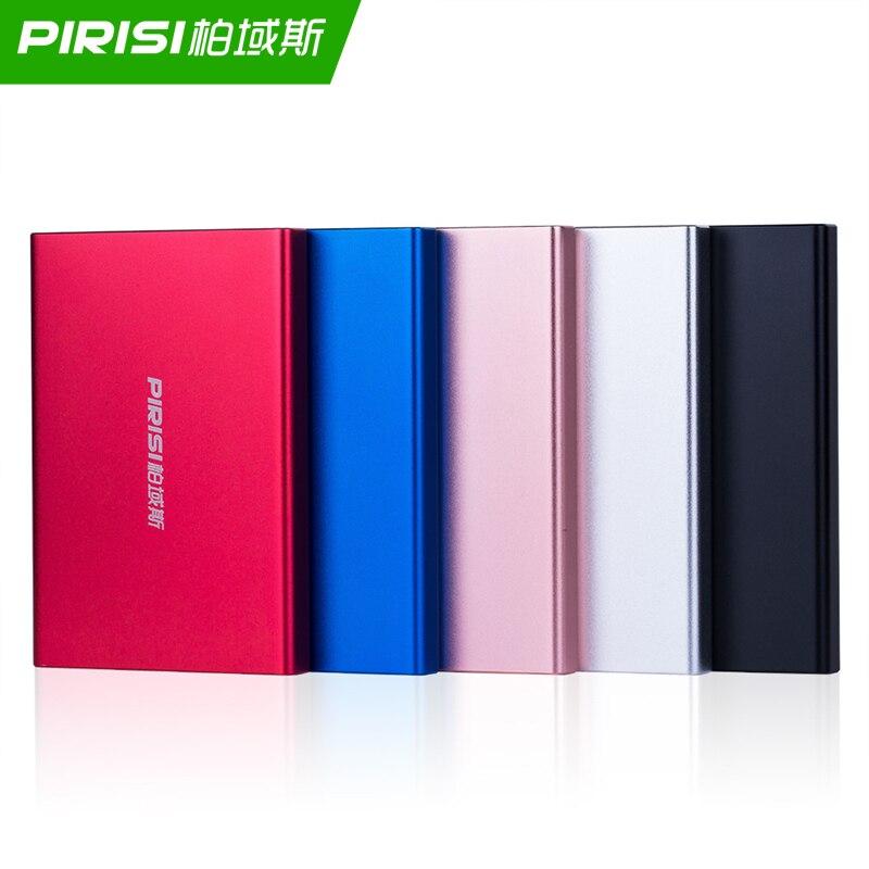 PIRISI Portable External Hard Drive Disco Duro Externo USB3.0 Disque Dur Externe For PC, Mac,Tablet, Xbox, PS4,TV Box