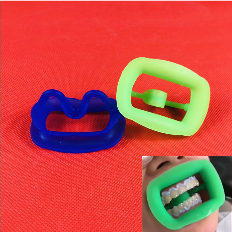 New Dental Retractor Soft Silicon Intraoral Lip Cheek Retractor Mouth Opener Cheek Expand Dental Orthodontic