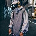 Hoodies japonês sujo moletom harajuku hip hop pulôver casual oversize com capuz streetwear masculino moda topos