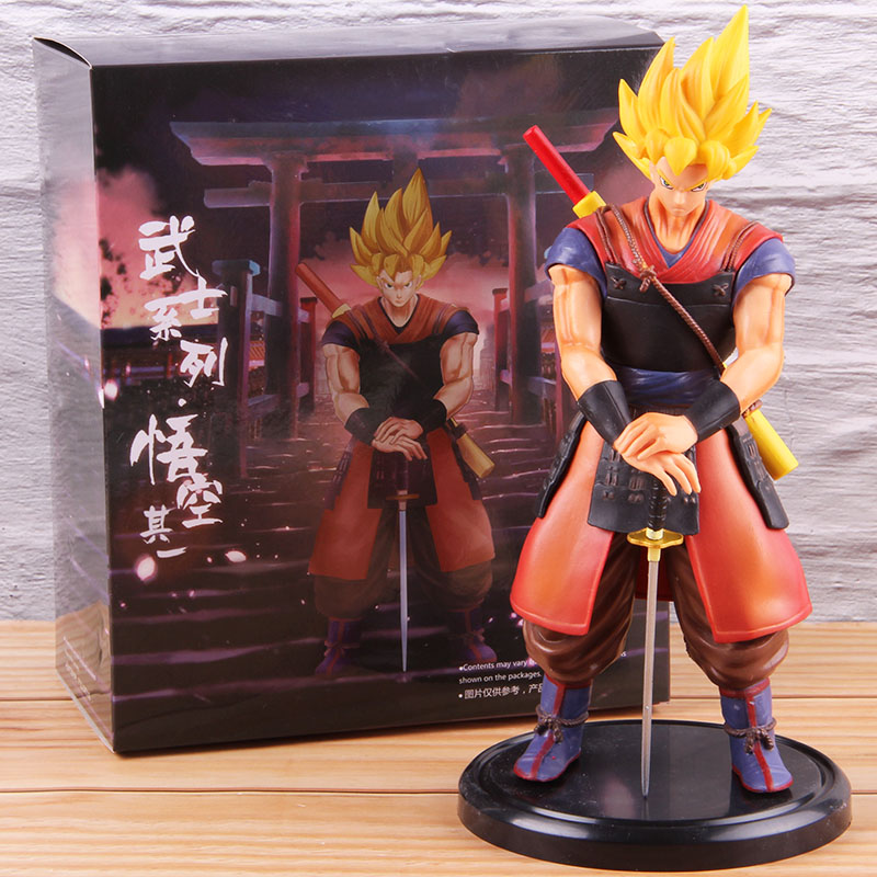 Banpresto Dragon Ball Figure May Doll Samurai ver Son Gokou Set of 2 JAPAN NEW