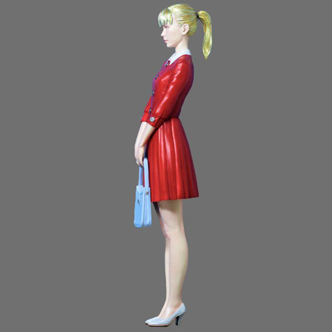 1/12 Resin Figures  Miss Japan Model Kits R64