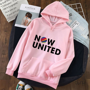 Pink Fashion 2020 Now United Hoodie Sweatshirts Women Clothing Pullover Kawaii Harajuku Streetwear Oversized Long Sleeve