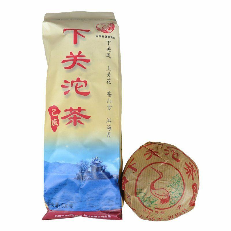 2007 Class B YI JI Raw Puer Tuocha Xiaguan Puerh Tuo Cha Tea Xiaguan Tuo 500g