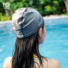 Эластичная шапочка для взрослых плавания мужчин и женщин длинных