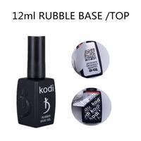 KODI GEL professionelle 12ML Gummi Basis Mantel Gel Lack UV Nail Primer SCHUTT Top Mantel Hybrid Semi Permanent Gel