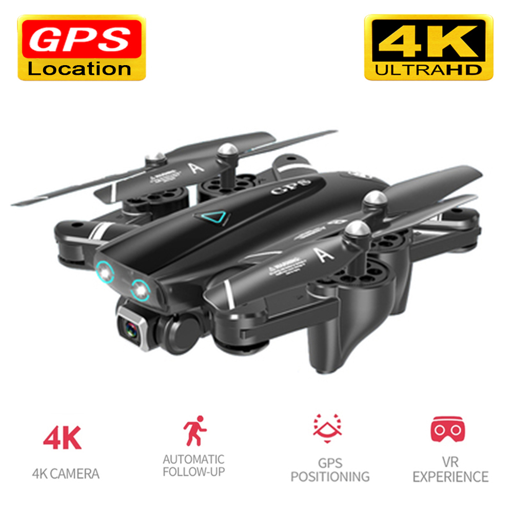 Drone 4k HD Camera GPS Drone 5G WiFi FPV 1080P No Signal Return RC Helicopter Flight 20 Minutes Quadcopter Drone with Camera image