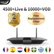 Leadcool Q1504 IPTV France/Arabic/Italy/Spain/Portugal Android 8.1 RK3229 QHDTV PLUS Box IPTV France/Arabic/Italy/Spain/Portugal leadcool pro qhdtv plus iptv france arabic italy canada android 8 1 1 8g 2 16g iptv france arabic italy spain canada qhdtv plus