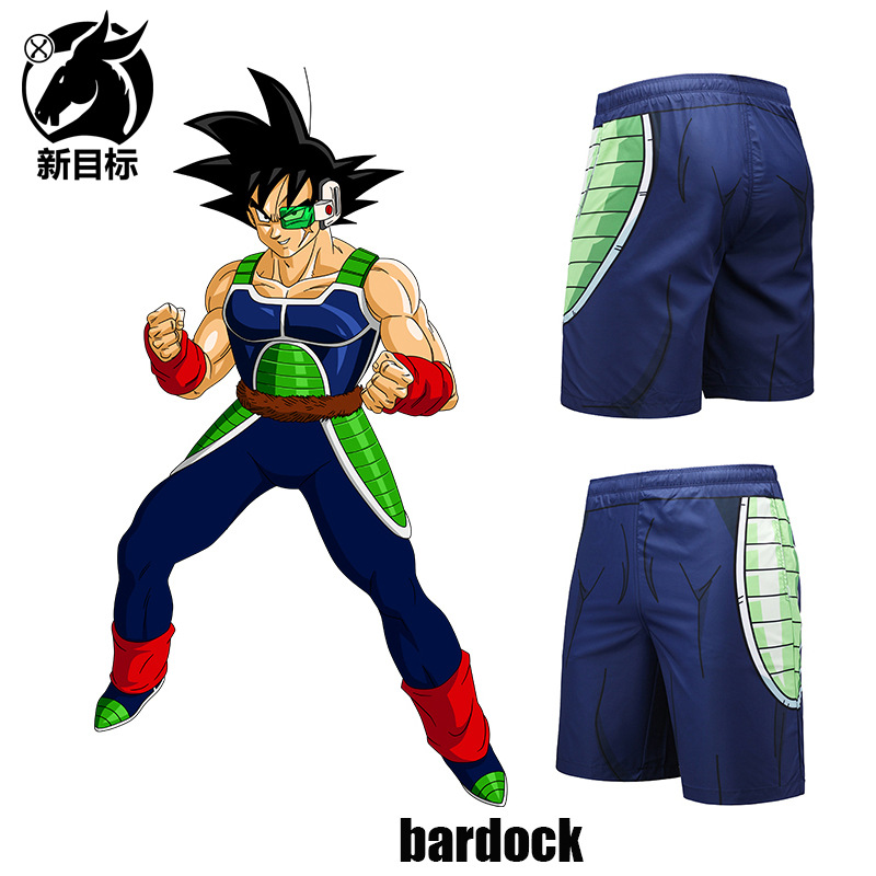 Foreign Trade Swimming Trunks 2019 Summer Wear New Style Shorts Dragon Ball Batak 3D Printed Beach Shorts Popular Brand Casual S