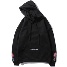 2019 Autumn And Winter Mens New Casual Solid Color Letter Printing Hooded Hoodies Loose Temperament Trend Cotton Harajuku