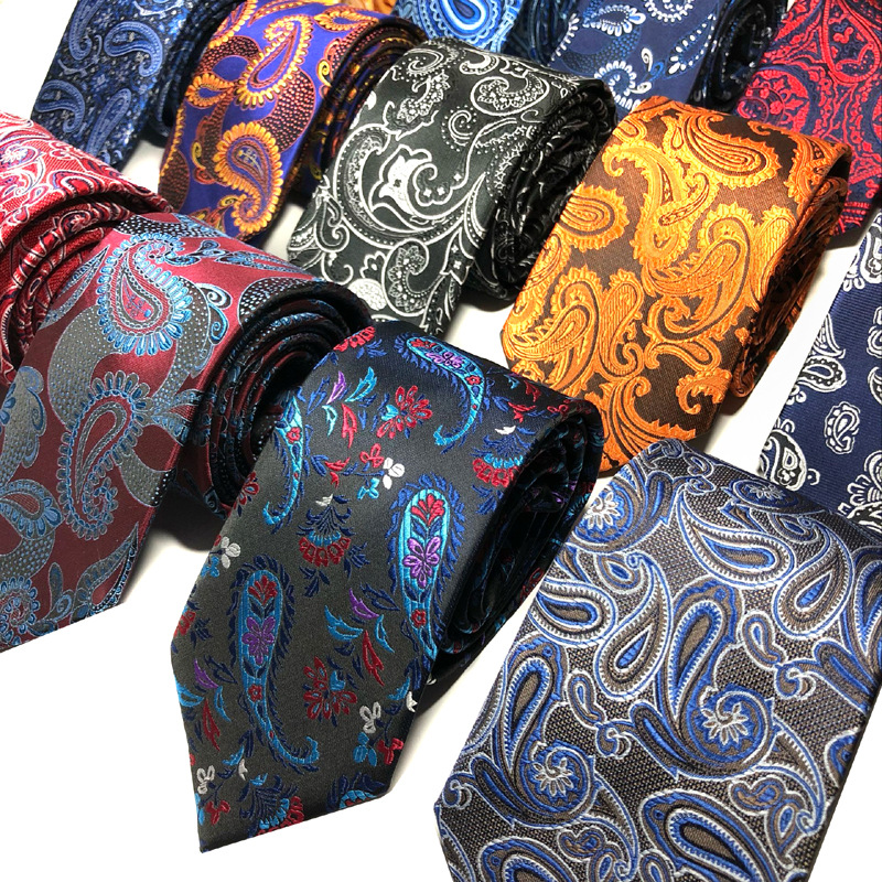New Mens Ties Men's Hot Selling Tie Business Classic Jacquard Woven Necktie Leisure Formal HighGrade Polyester Dropping Shipping