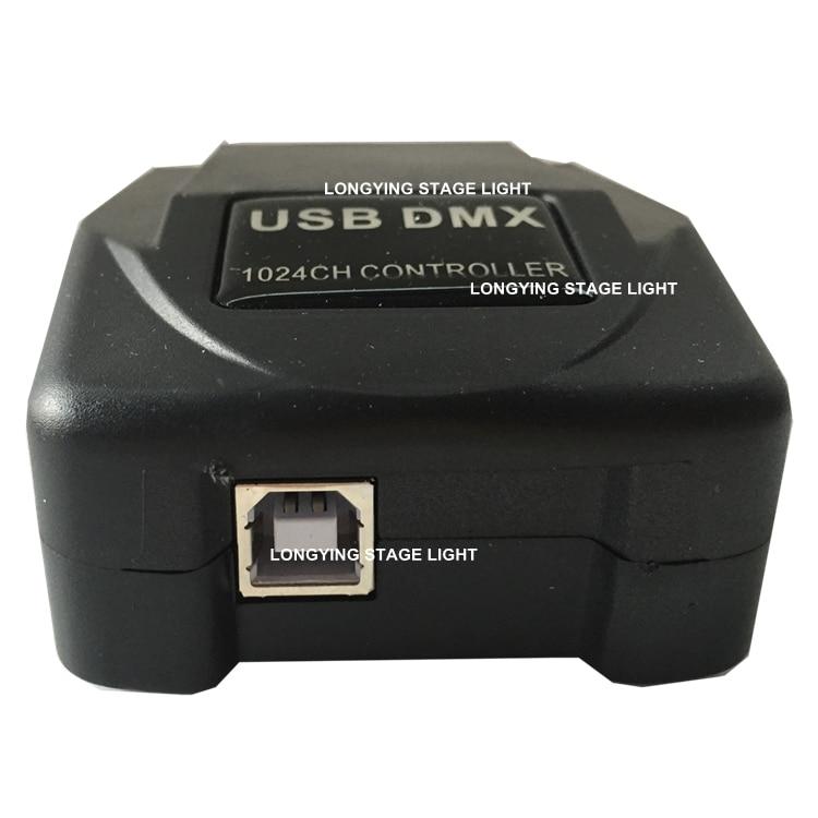 Livraison gratuite 2 pièces/lot Martin lumière Jockey 1024 USB contrôleur PC Windows basé contrôleur USB DMX Interface Led lumière de scène - 3