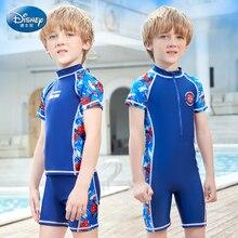 Original Disney Children Swimsuit Boys Kid Spider Man One Piece Swimwear Boys Kids SW200720