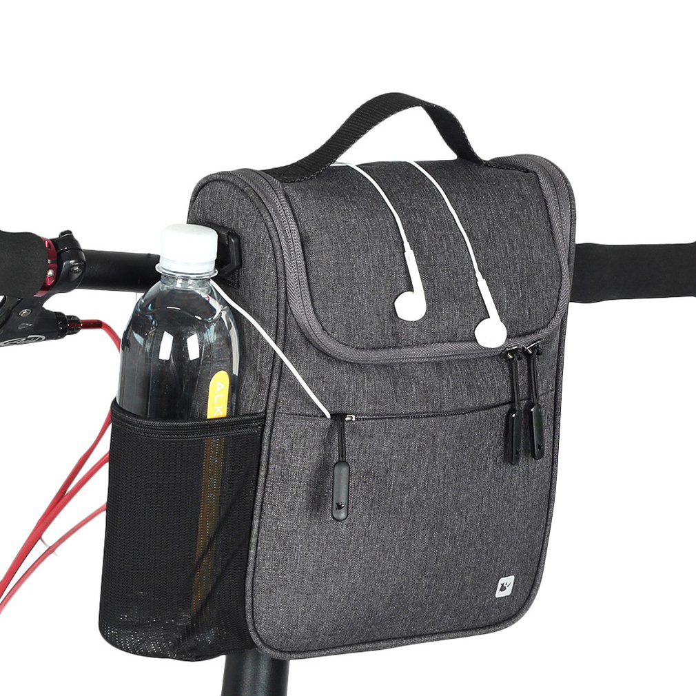 RHINOWALK Bicycle Front Bag Large Capacity Multi function Front Head Bag Folding Bike Electric Car Bag Rainproof Cover|Bicycle Bags & Panniers| |  - title=