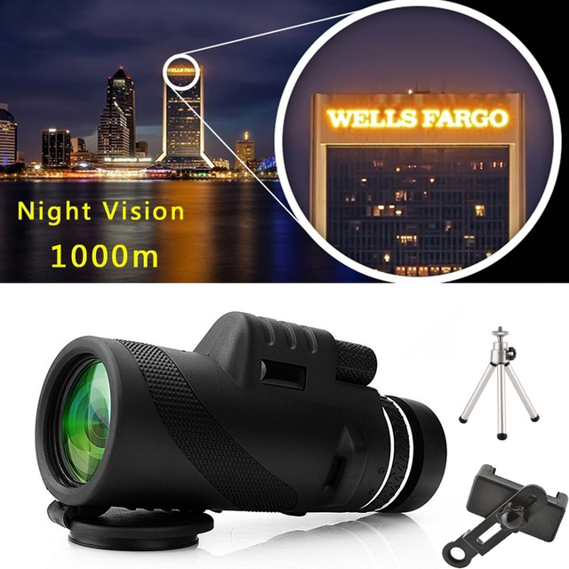 50x60 Telescope Zoom Lens Monocular Mobile Phone Camera Lens For Digital Camera Mobile Phone Outdoor Camping Hunting Sports Tool