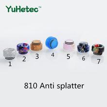 1 pz FATUBE 810 antigoccia antispruzzo con doppio portasigarette O Ring