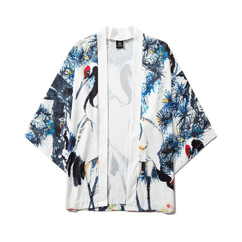 2020 JAYCOSIN Summer Japanese Five Point Sleeves Kimono Mens And Womens Cloak Jacke Top Blouse Dropshipping New Hot  Sale 004#
