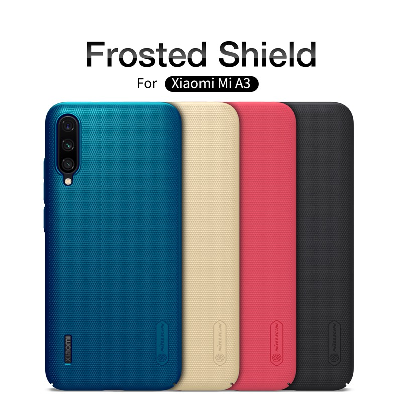 for <font><b>Xiaomi</b></font> <font><b>Mi</b></font> <font><b>A3</b></font> case armor <font><b>cover</b></font>, Nillkin shockproof case for <font><b>Xiaomi</b></font> <font><b>Mi</b></font> <font><b>A3</b></font> mobile phone frosted shield hard coque etui 360 on image