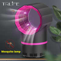 Drop shpping 2020 USB Powered Mosquito Killer Lamp Electric No Noise Killer Bug  Mosquito Trap Light For Bedroom Home