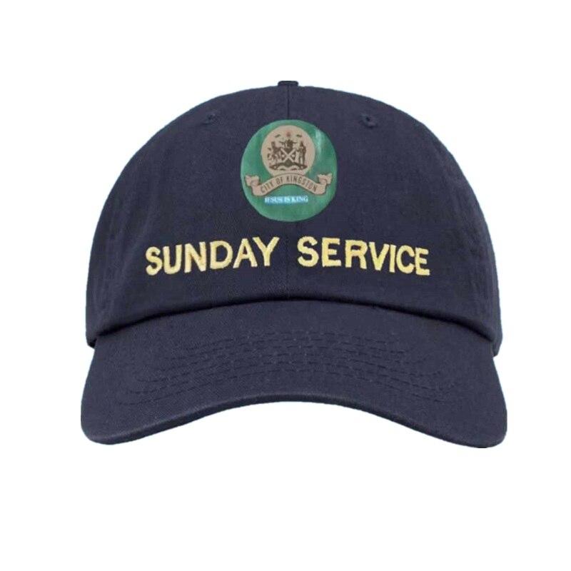New Kanye West Sunday Service Jesus Is King Album Baseball Caps Embroidery Dad Hat Unisex Women Man Hats Latest Album Snapback
