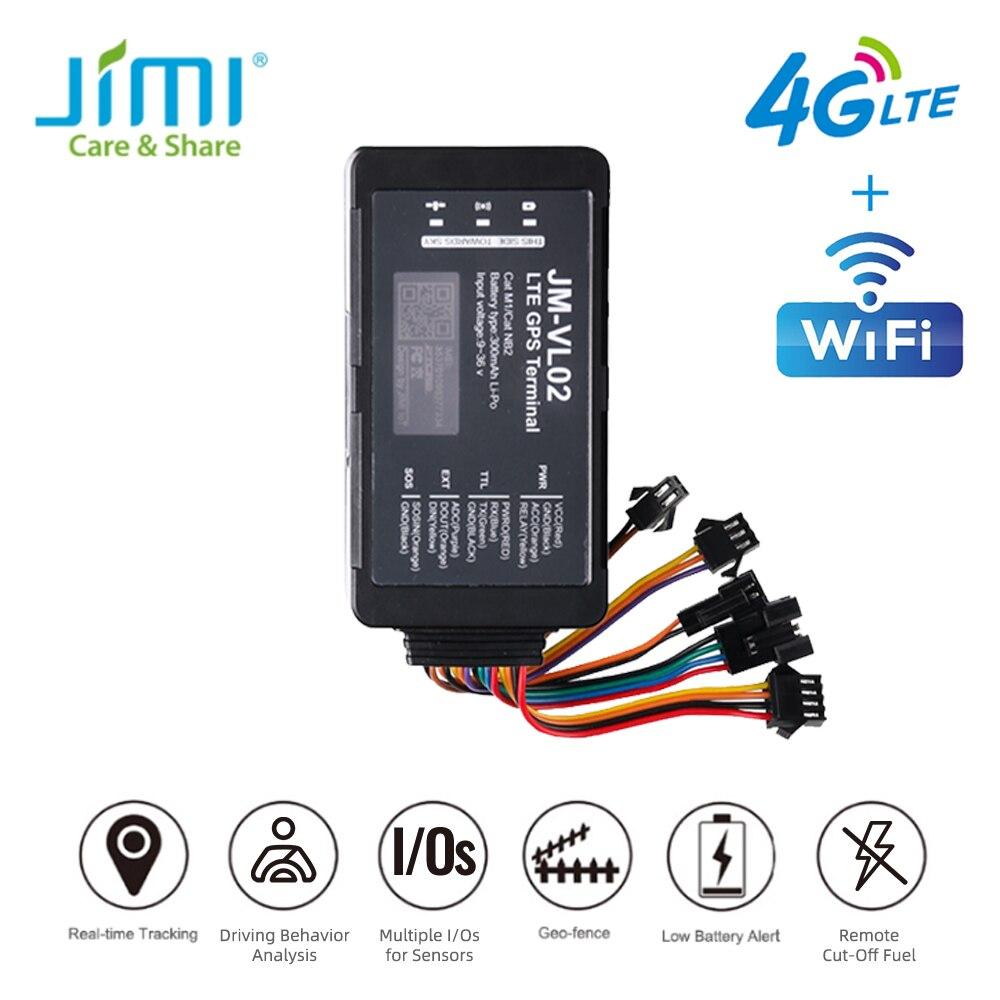 JIMI 4 аппарат не привязан к оператору сотовой связи GPS трекер JM-VL02 несколько Вход Outpus манеры вождения транспортного средства локатор с выключ...
