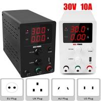 Newest Adjustable lab Power Supply 30V 10A Bench Source Digital Regulated Power Supplies Current Stabilizer Voltage Regulator