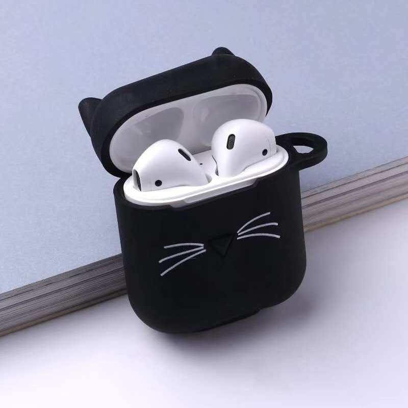 Soft Silicone Earphone Protector For Apple Airpods Earphones Accessories Skin Protective Case For Airpods 2