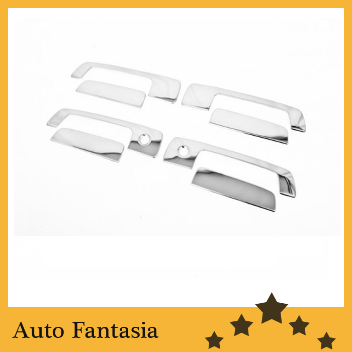 Flexible chrome trim Chrome <font><b>Door</b></font> <font><b>Handle</b></font> Cover for <font><b>Mitsubishi</b></font> Lancer / <font><b>Mirage</b></font> 97-01 / Evolution Gen 4-6-Free Shipping image