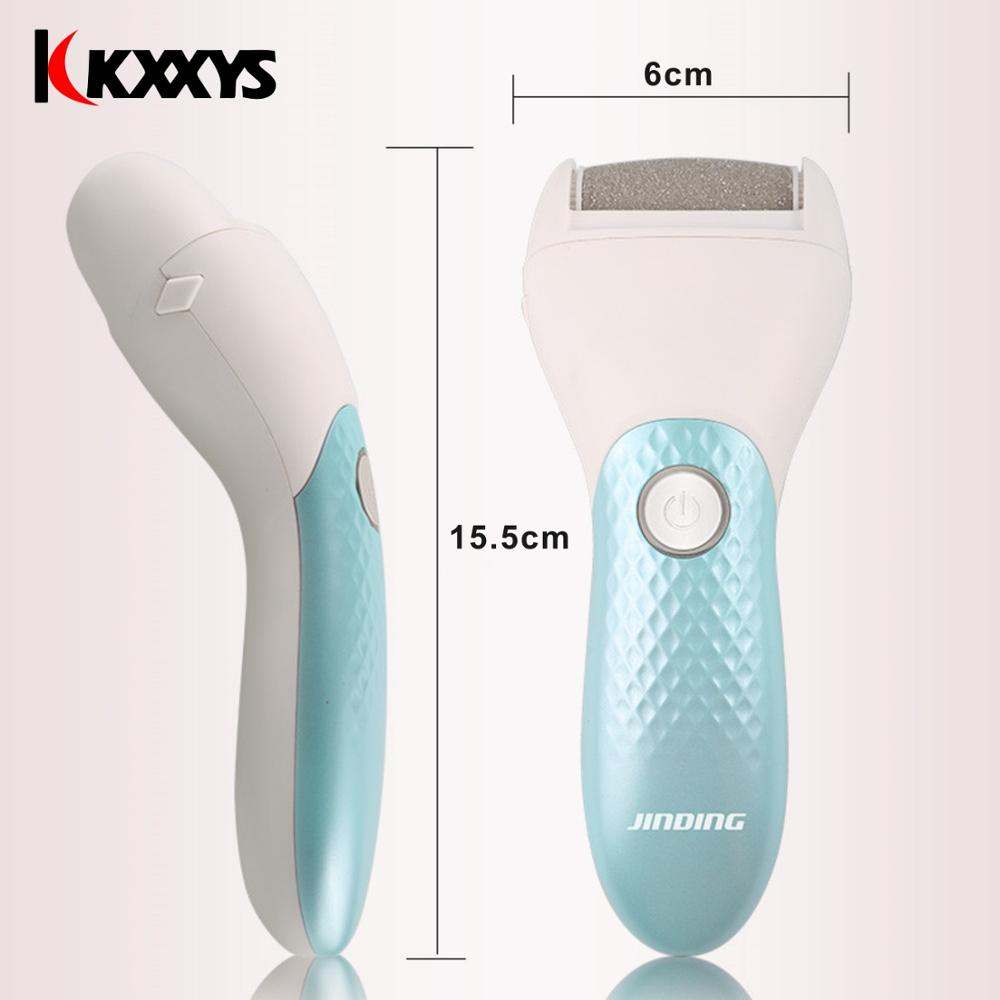 Image 5 - Electric Heel Callus Remover/ Foot file Care Tool/ Feet Hard Dead Skin Removal Pedicure Device USB Recharging StyleFoot Care Tool   -
