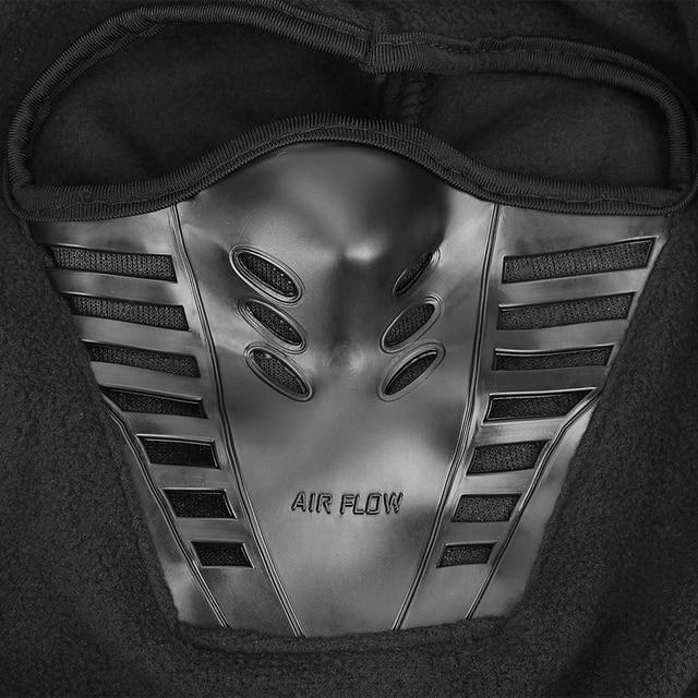 Motorcycle Face Mask Winter Windproof Hiking Cap For Ski Bike Motorcycle  Black Face Neck Warmer Helmet Hat Men Warm Thermal 3