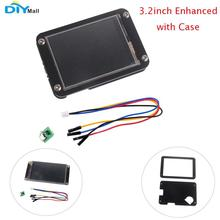 Nextion Enhanced 3.2'' 3.2inch HMI Resistive Touch Display with Black Acrylic Case for Arduino Raspberry Pi цена и фото