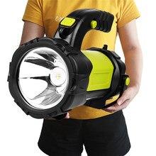 Lanterne de Camping Super lumineuse Z40T80, lanterne de poche COB Rechargeable par USB avec batterie intégrée pour Litwod