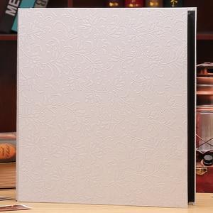 Image 4 - 6 inç 800 plastik cepler fotoğraf albümü aile eklemek büyük kapasiteli deri kılıf galeri aile bellek kayıt karalama defteri albümü