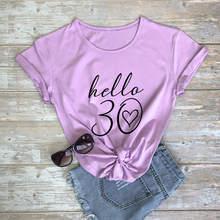 T-shirt humoristique 100% coton pour femme, vêtement de fête d'anniversaire, cadeau pour elle