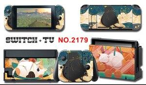Image 1 - Mononoke kins vinyle écran protecteur de peau autocollants pour Nintendo Switch NS Console + contrôleur + support peaux