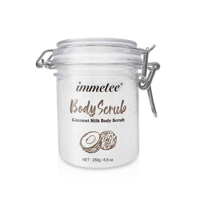 Coconut Milk Body Scrub for Bath Hydrating Exfoliating Scrub Lotion Deep Cleansing Cutin Refine Pores Scrub Remove Dead Skin 1