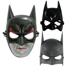 Шар для макияжа маска для вечеринки Хэллоуин маска пластиковая летучая мышь человек маска ужаса Половина лица маска летучей мыши