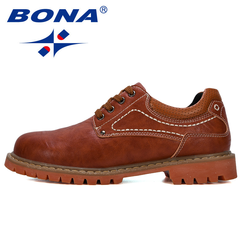 Image 4 - BONA 2019 New Designer Luxury Fashion Wedding Business Shoes Men Oxford Dress Shoes Men Formal Shoes Man Working Shoes Male-in Oxfords from Shoes