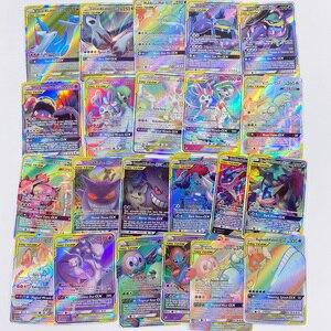 Image 3 - Pokemon Card GX Shining VMAX TAG TEAM Card TAKARA TOMY Game Battle Carte Trading Children Toy