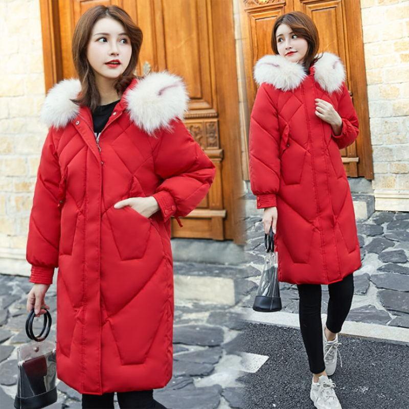 Winter Jacket Women New   parka   women 2019 Coats Hooded Ladies Coats Female   Parka   Thick Cotton Padded Lining Winter Female Coats