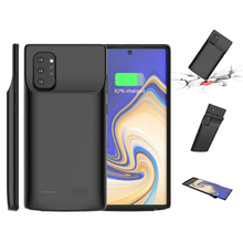 Portable Power Bank Cover 6000mah Extended Phone Battery Power Case For Samsung Galaxy Note 10 Plus Powerbank Charger Case