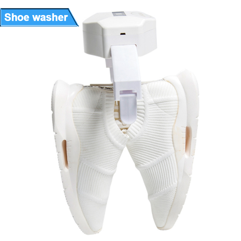 Ultrasonic Shoe Washer Portable Shoe Washing Machine Automatic Home Shoe Cleaning Machine Shoes Cleaning Equipment For 3-5 Pairs