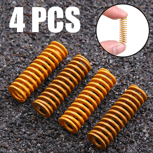4 Pcs Ultimate Upgraded Heated Bed Flat Springs For Creality Ender 3 Pro CR-X CR-10 S CR-X CR-10 Mini CR-20(China)