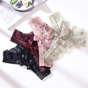 Amazing Women Lingerie G String Lace Underwear Female Japan Style Sexy T-back Thong 2020 Hot Sale Transparent Low Waist Briefs