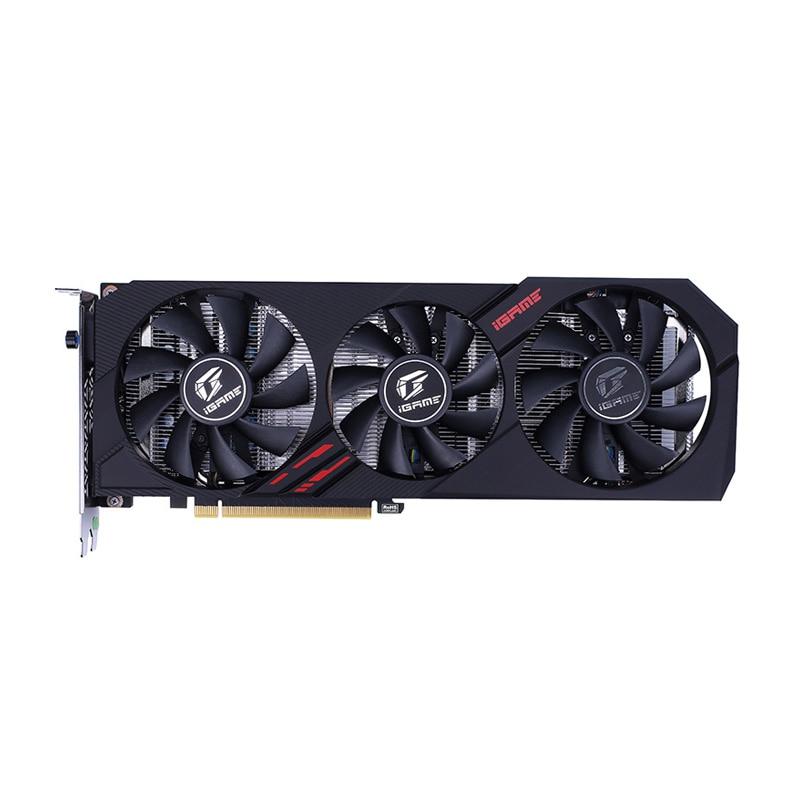 Colorful IGame GeForce GTX 1660 Ti Graphics Card Nvidia GPU GDDR6 6G GTX 1660Ti 192-bit PC Graphics Card PCI-E 3.0