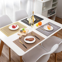 Placemats for Dining Table Waterproof Heat Resistant Wipeable Table Mats for Home  Restaurant  Cafe Bar Accessories