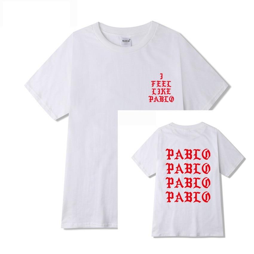 Jesus is King I Feel Like Pablo Streetwear T shirt  2